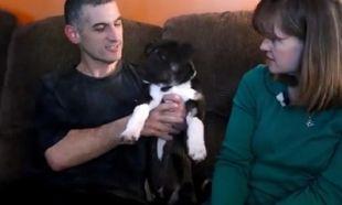 Αυτό το σκυλάκι είναι ο φύλακας άγγελός τους! Τους έσωσε τη ζωή! (βίντεο)