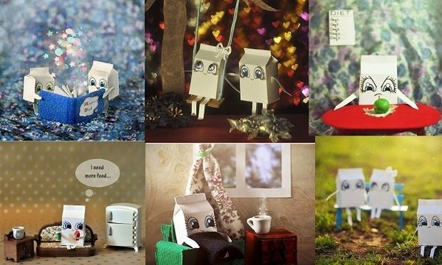 Τα χάρτινα κουτιά γάλακτος όπως δεν θα έχετε ξαναδεί! (εικόνες)