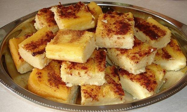Συνταγή για γαλατόπιτα χωρίς φύλλο!