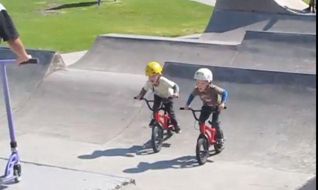 Οι καλύτεροι BMXάδες είναι μόλις τεσσάρων ετών! (βίντεο)