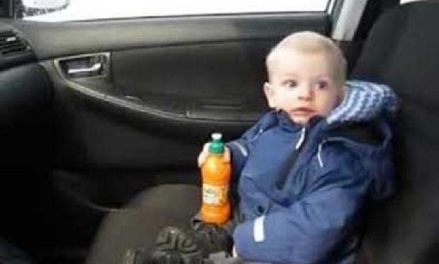 Η απίθανη πρώτη του φορά σε πλυντήριο αυτοκινήτων! (βίντεο)