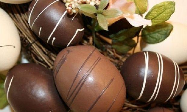Συνταγή για πασχαλινό σοκολατένιο αυγό!