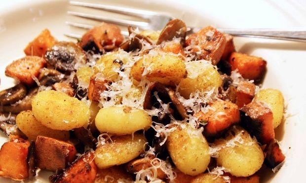 Συνταγή για μαλακές πατάτες φούρνου με μανιτάρια