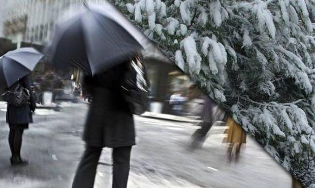 Βροχές, καταιγίδες και χιόνια - Πού θα χτυπήσει η κακοκαιρία
