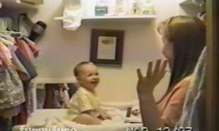 Η μαμά τρελαίνεται όταν το μωρό της καταφέρνει να πει... (βίντεο)