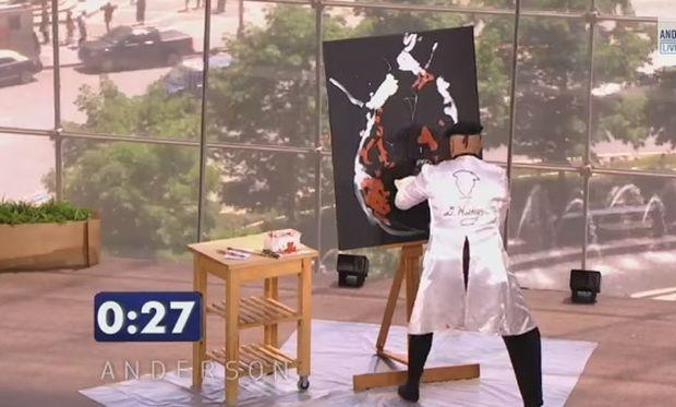 Δε θα πιστεύετε στα μάτια σας! Ζωγράφος δημιουργεί πίνακα σε 90 δευτερόλεπτα! (βίντεο)