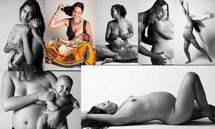 Γυμνή αλήθεια! Η ομορφιά της γυναίκας μετά τον τοκετό! (εικόνες)