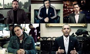 «Βάζουμε τέλος στη σεξουαλική βία». Ομπάμα και σταρ του Χόλιγουντ στο πλευρό των κακοποιημένων γυναικών (εικόνες, βίντεο)