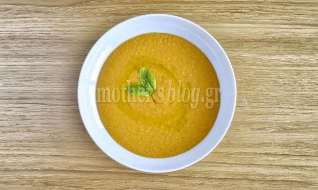 Συνταγή για πεντανόστιμη βελουτέ φασολάδα με αρωματικά και πορτοκάλι από τον Γιώργο Γεράρδο
