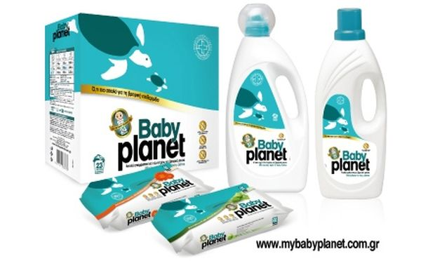 Baby Planet: Το πιο φυσικά απαλό βρεφικό απορρυπαντικό!