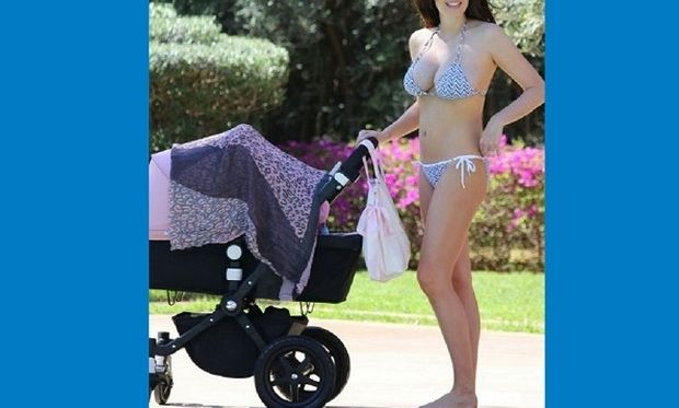 Κι όμως! Αυτή η γυναίκα γέννησε πριν 2 μήνες! (εικόνες)