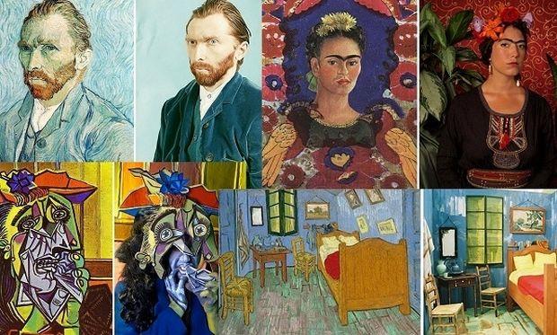 Κλασικοί πίνακες ζωγραφικής με πρωταγωνιστές μαθητές! (εικόνες)