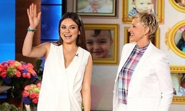 Η Mila Kunis μιλά πρώτη φορά για την εγκυμοσύνη της: Οι λιγούρες, ο Ashton και η γέννα!