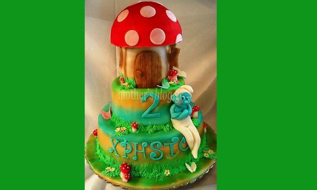 My cakes - My hobby! Φτιάχνουμε μία φανταστική Στρουμφοτούρτα!