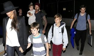«Οι Μπέκαμ»! Αυτή η οικογένεια, όπου πάει, προκαλεί πανικό! (φωτογραφίες)