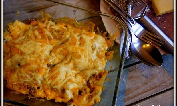 Συνταγή για «τηγανιτές πατάτες με κιμά» στο φούρνο!