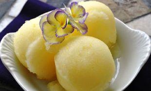 Συνταγή για παγωτό σορμπέ λεμόνι στο λεπτό!