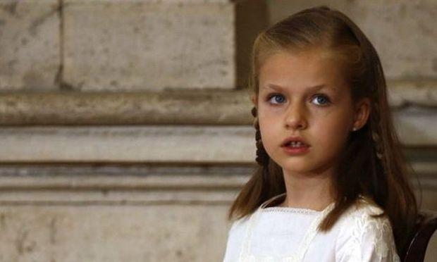 Leonor: Oσα θέλετε να ξέρετε για την 8χρονη νεότερη διάδοχο του Ισπανικού Θρόνου