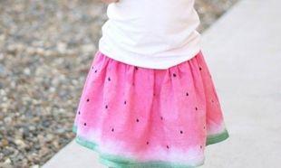 Φτιάξτε την τέλεια φούστα-καρπούζι για το κοριτσάκι σας: Είναι πανεύκολη και το αποτέλεσμα γλύκα!