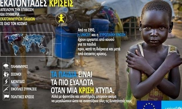 Η ελληνική αποστολή της UNICEF στο πλευρό των υποσιτισμένων παιδιών, με πρεσβευτή τον Παύλο Τσίμα! (βίντεο)