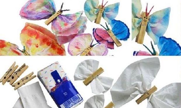 Αυτές τις χάρτινες πεταλούδες, τα παιδιά θα τις λατρέψουν!