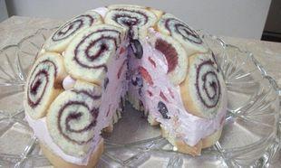 Μια εύκολη τούρτα στην στιγμή!