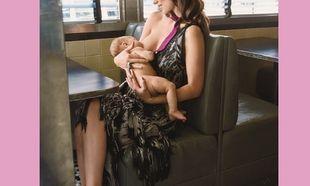 Πασίγνωστη μαμά θηλάζει δημόσια το μωρό της! (εικόνα)