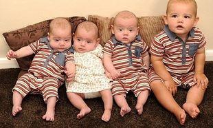 Aπίστευτο! Η ιστορία της γυναίκας που απέκτησε 4 παιδιά με διαφορά 9 μηνών! (εικόνες)