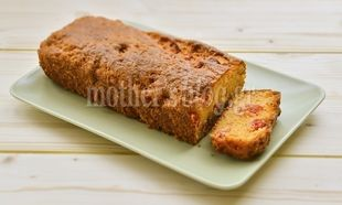 Τυρένιο κέικ με ντοματάκια και θυμάρι, από τον Γιώργο Γεράρδο!