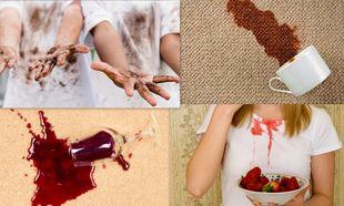 «Μη παλεύεις με την κέτσαπ, το μελάνι και τη σοκολάτα! Μπορείς να εξαφανίσεις τους λεκέδες με τα πιο έξυπνα tips!»