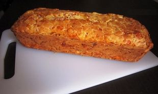 Αλμυρό κέικ με γαλοπούλα και τυριά!