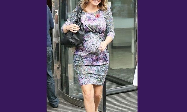 Αυτή η παρουσιάστρια είναι η πιο σικάτη έγκυος! (εικόνες)