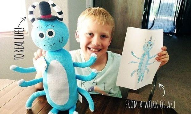 Εταιρεία παίρνει τις ζωγραφιές των παιδιών σας και τις μετατρέπει σε αληθινά παιχνίδια!