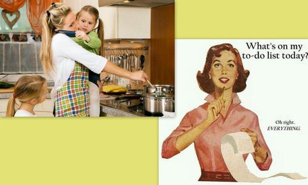 Despoina's little stories: «Ποιος είπε ότι η μαμά που δεν εργάζεται κουράζεται λιγότερο;»