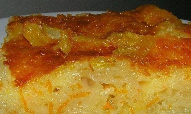 Συνταγή για την πιο νόστιμη οικογενειακή πορτοκαλόπιτα!