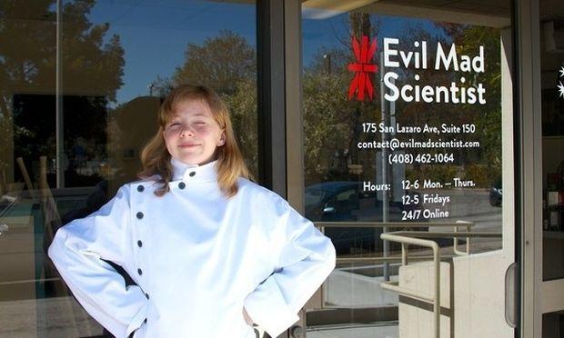 Απίστευτο! Δείτε τι εφηύρε αυτό το δωδεκάχρονο κορίτσι! (εικόνες+βίντεο)