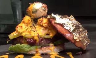 Και όμως, αυτό το burger στοιχίζει 1100 λίρες αγγλίας. Δείτε γιατί (βίντεο&εικόνες)