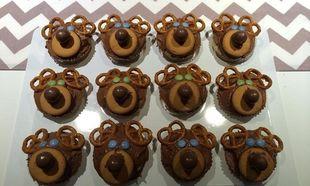 Cupcakes από τα χεράκια μας: Πεντανόστιμα ταρανδάκια με oreo και πραλίνα φουντουκιού!