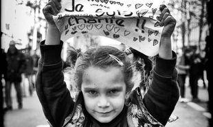 Je suis Charlie: Διαφορετικές φωτογραφίες από τη διαδήλωση