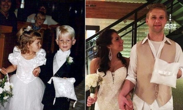 Το παρανυφάκι και το αγόρι που κρατούσε τις βέρες, παντρεύτηκαν 20 χρόνια μετά!(βίντεο)