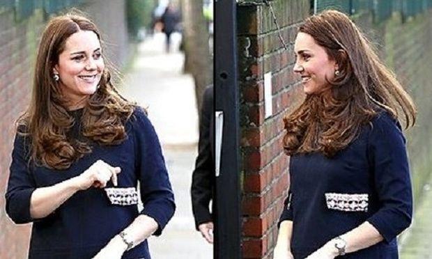 Δείτε τη νέα εμφάνιση της Κέιτ Μίντλετον. Η κοιλίτσα της μεγάλωσε αρκετά!(εικόνες)