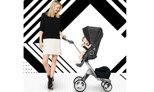 Black & White Stripes Style Kit: Ντύστε το καρότσι σας με κομψές ρίγες
