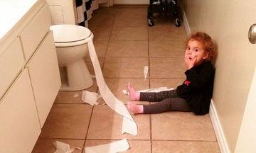Τι τραβάνε οι καημένοι οι γονείς! Εικόνες από το χάος που προκαλούν τα παιδιά