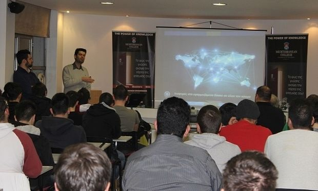 Mediterranean College: Μεγάλη συμμετοχή στο ανοικτό  σεμινάριο  με θέμα: «Διαδικτυακές Συμπεριφορές Υψηλού Κινδύνου»