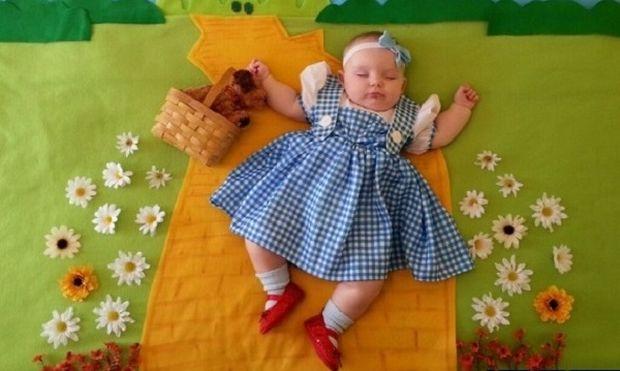 Οι απίστευτες φωτογραφίες που τράβηξε μία γιαγιά την εγγονή της και έγιναν viral (εικόνες)