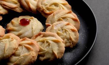 Συνταγή για μπισκότα βουτύρου με 4 υλικά - Έτοιμα σε χρόνο dt