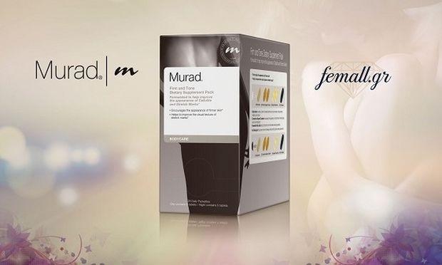 Το προϊόν της ημέρας: Murad Firm and Tone Dietary Supplement Pack