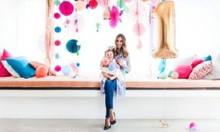 Η Ρεμπέκα Τζουντ, γιόρτασε τα πρώτα γενέθλια της κόρης της. Δείτε πως!(εικόνες)