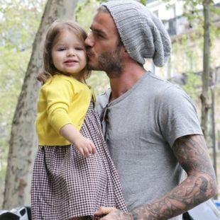Η μικρή Harper θα περάσει «δύσκολα»: O μπαμπάς David Beckham τελικά δεν είναι τόσο cool
