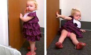 Η απίστευτη αντίδραση μίας πιτσιρίκας  όταν μαθαίνει ότι θα αποκτήσει αδελφάκι! (βίντεο)